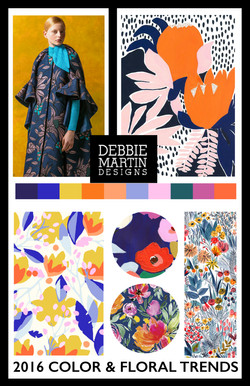 2016 Floral & Color Trends