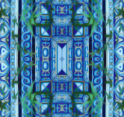 Tile Inspired Print: Design Created from Photo
