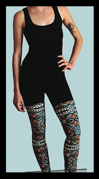 Original Legging Design: Spring 2012