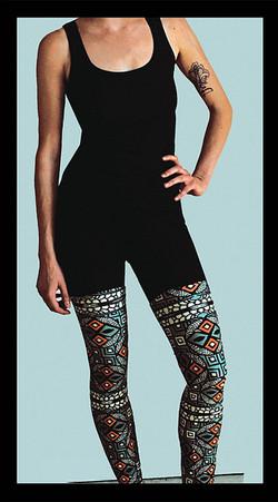 Original Legging Design: Spring 2012