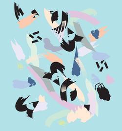 abstract strokes 2