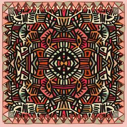 Hand Drawn Textile Design