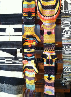 Hand Dyed & Woven Textiles