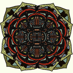 Hand Painted Textile Design