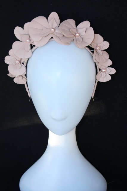 Dusty Pink Orchid Headband