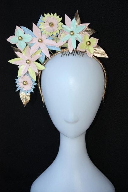 Pastel Bloom Headpiece