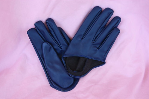 Half Gloves - Navy