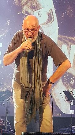 Fish on stage at Islington