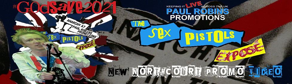 Paul robins promotions presents The Sex Pistols Exposé LIVE in Abingdon, Oxfordshire. #Godsave2021