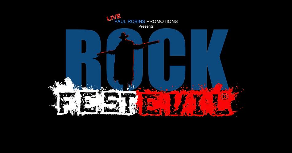 Paul Robins Promotions presents Rock FestEvil®, a new rocktastic music event.
