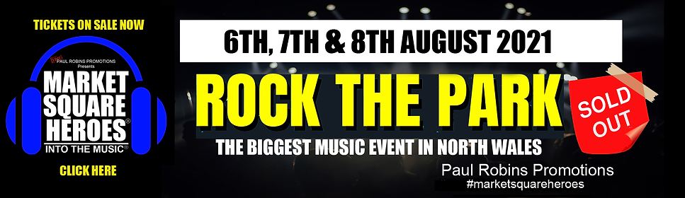 Rock The park is an upcoming music event scheduled for August 2021.