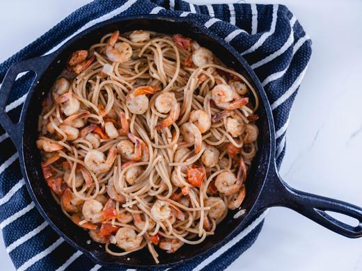 Easy Garlic Shrimp Scampi