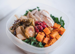 Thanksgiving Leftovers Macro Bowl