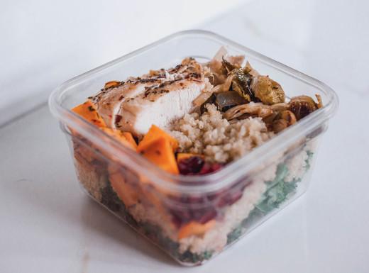 Turkey & Quinoa Harvest Bowls