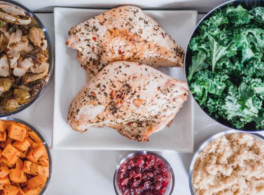 Turkey & Quinoa Harvest Bowl Lunch Prep