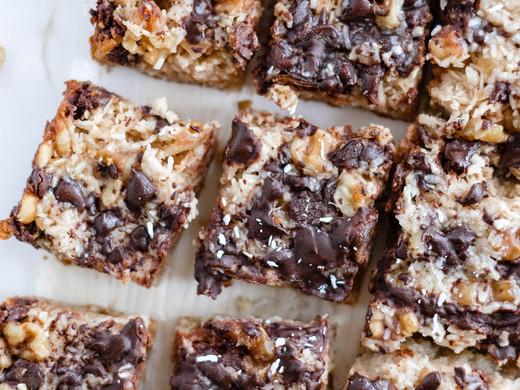 Healthy Gluten-Free Magic Bars