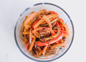 Spicy Sautéed Peppers & Onions