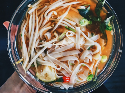 Healthy, Vietnamese-Style Chicken Noodle Soup