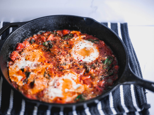 "Vegetarian Shakshuka (Aka. ""Eggs With Sauce"")"