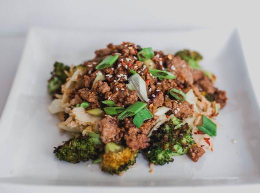 Asian Sesame Beef Stir Fry