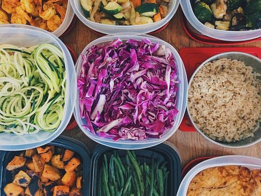 Weekly Meal Prep - Nov 3, 2018