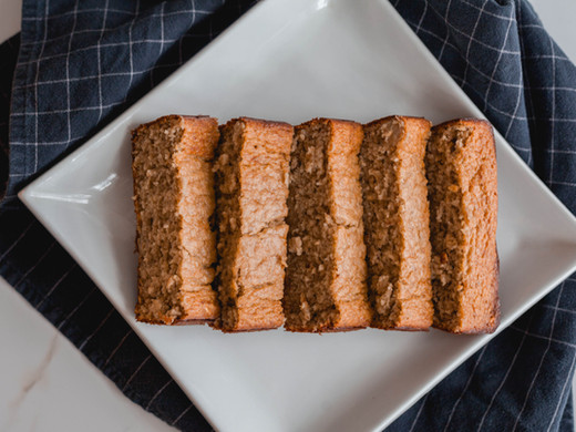 Healthy No-Sugar-Added Banana Bread