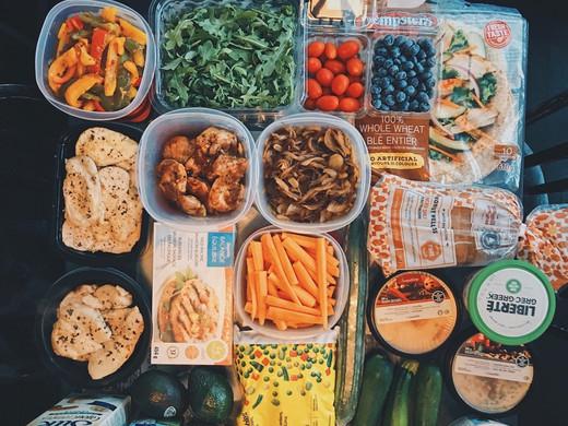 Weekly Meal Prep - Aug 27, 2018