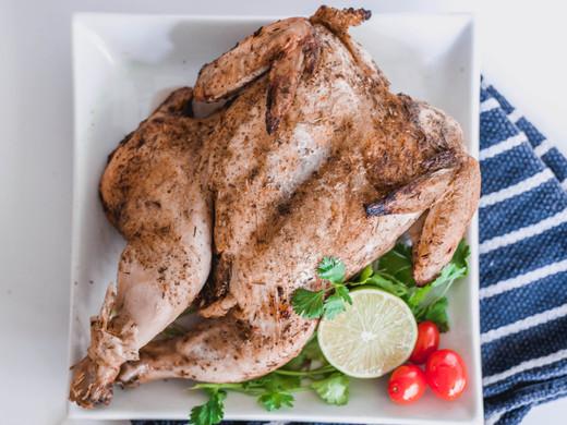 Oven-Roasted Lemon & Herb Chicken