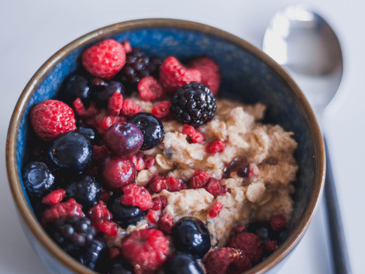Mixed Berry Protein Oats