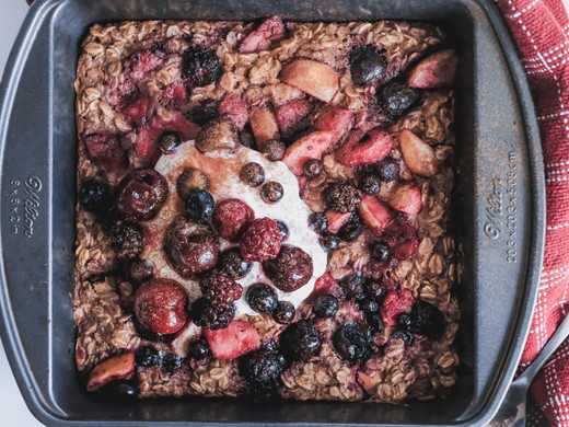 Holiday Oatmeal Bake