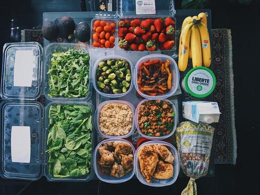1 Week Meal Prep - June 25, 2018