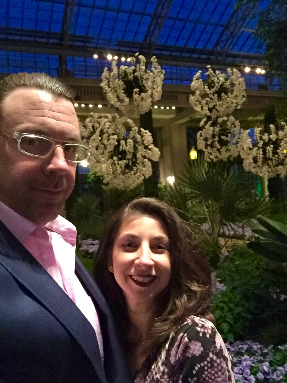 Dan and Melissa Dietrich, Longwood Gardens, Kennet Square, PA