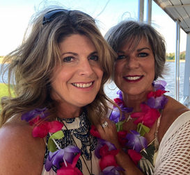 Linda and Candy on Cruise
