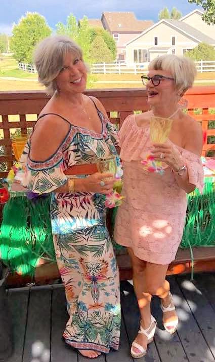 Candy and Nancy Celebrating Nancy's 71st