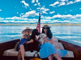 Jenni, Me and the Pups on Loveland Lake