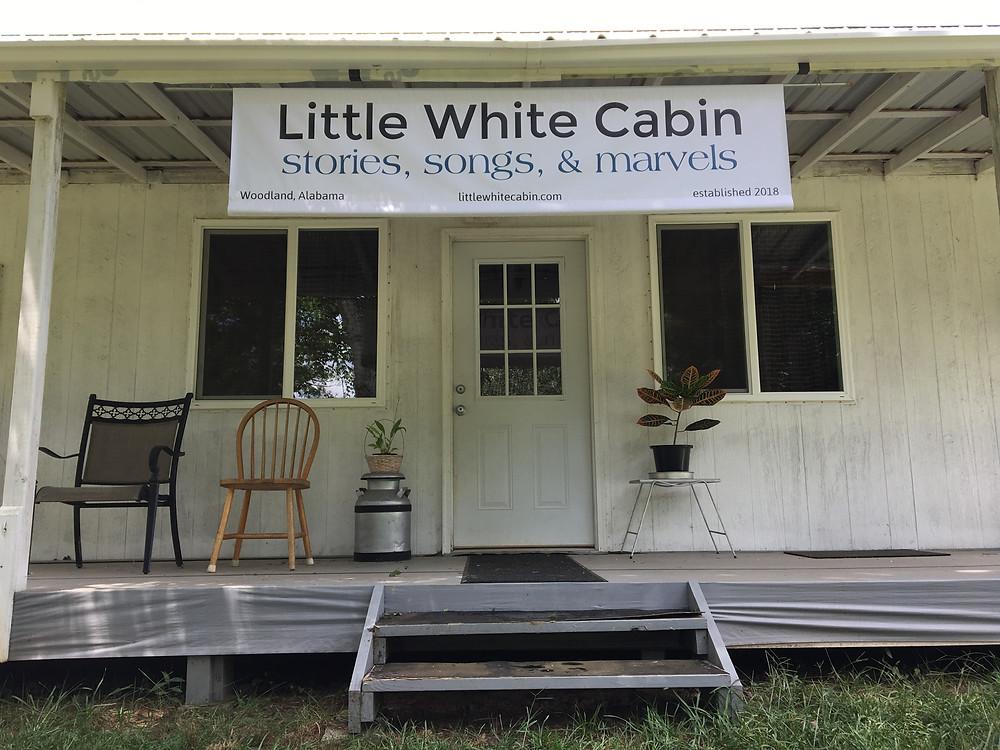 Little White Cabin banner
