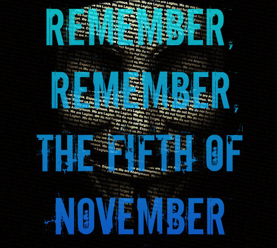 Remember, Remember, The 5th Of November