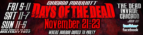 Author Appearance: Days of the Dead Horror Convention