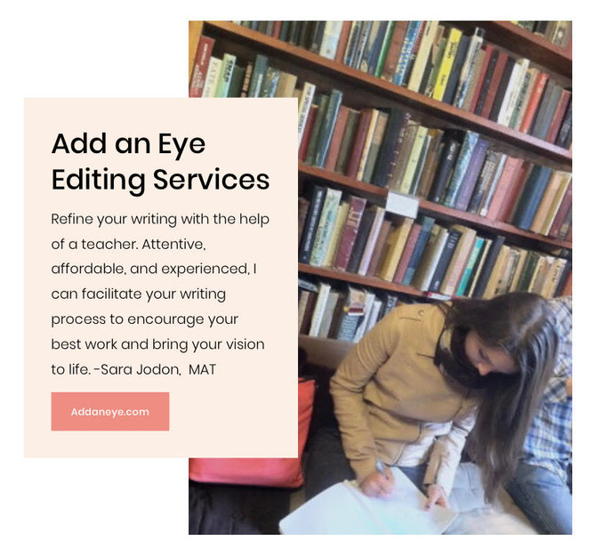 Looking for an Editor? Add An Eye Has You Covered