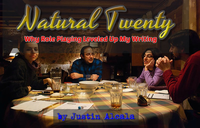Natural Twenty: Why Role Playing Leveled Up My Writing