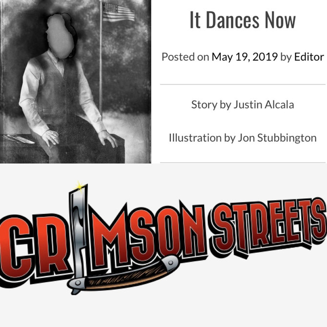 """It Dances Now"" Available at Crimson Streets Magazine"