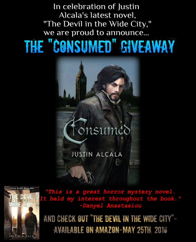 "The ""Consumed"" Horror Novel Giveaway"