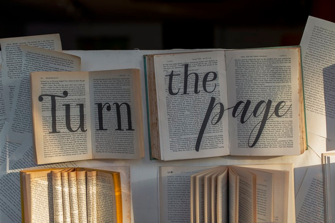 Turn the Page by Justin Alcala