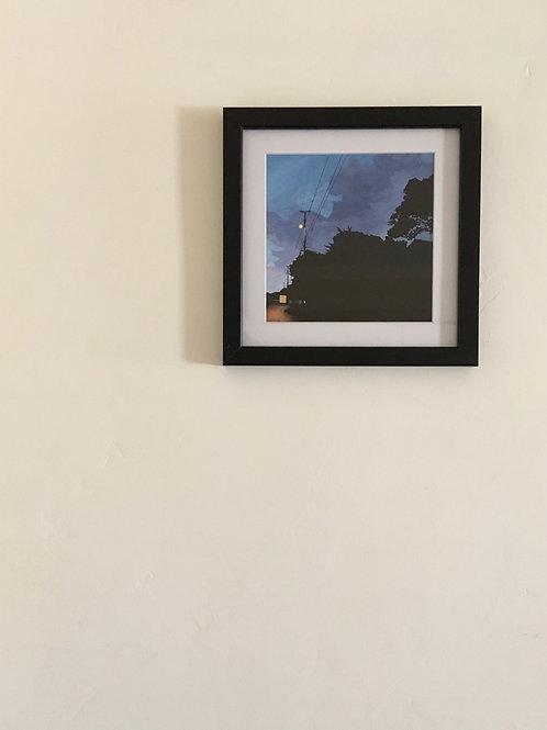 "Framed Print ""Wood"""