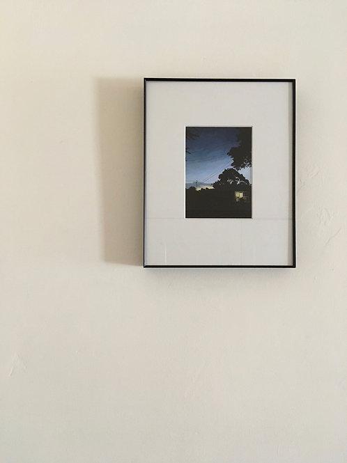 """Framed Print """"Chestnut"""""""