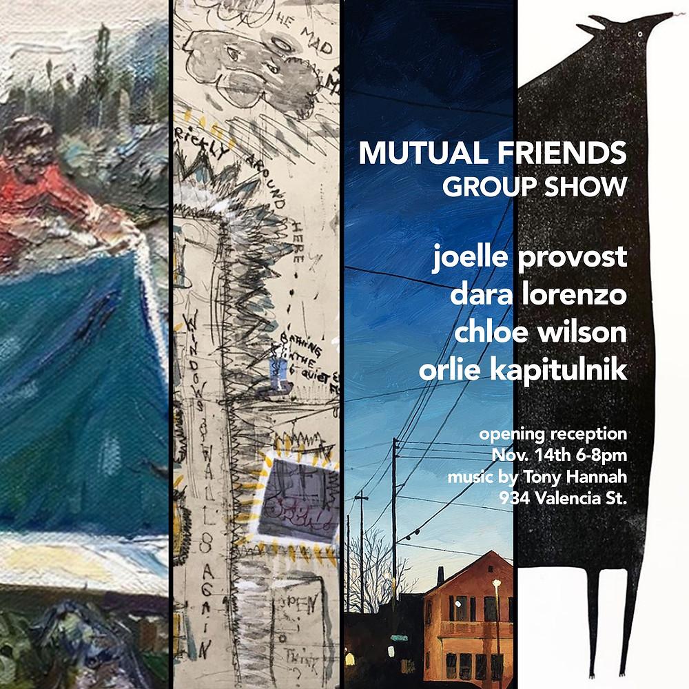 mutual friends group show
