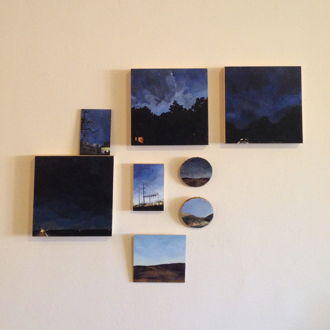 New Paintings in Holiday Show