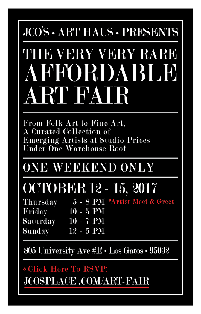 Very Very Rare Affordable Art Fair!