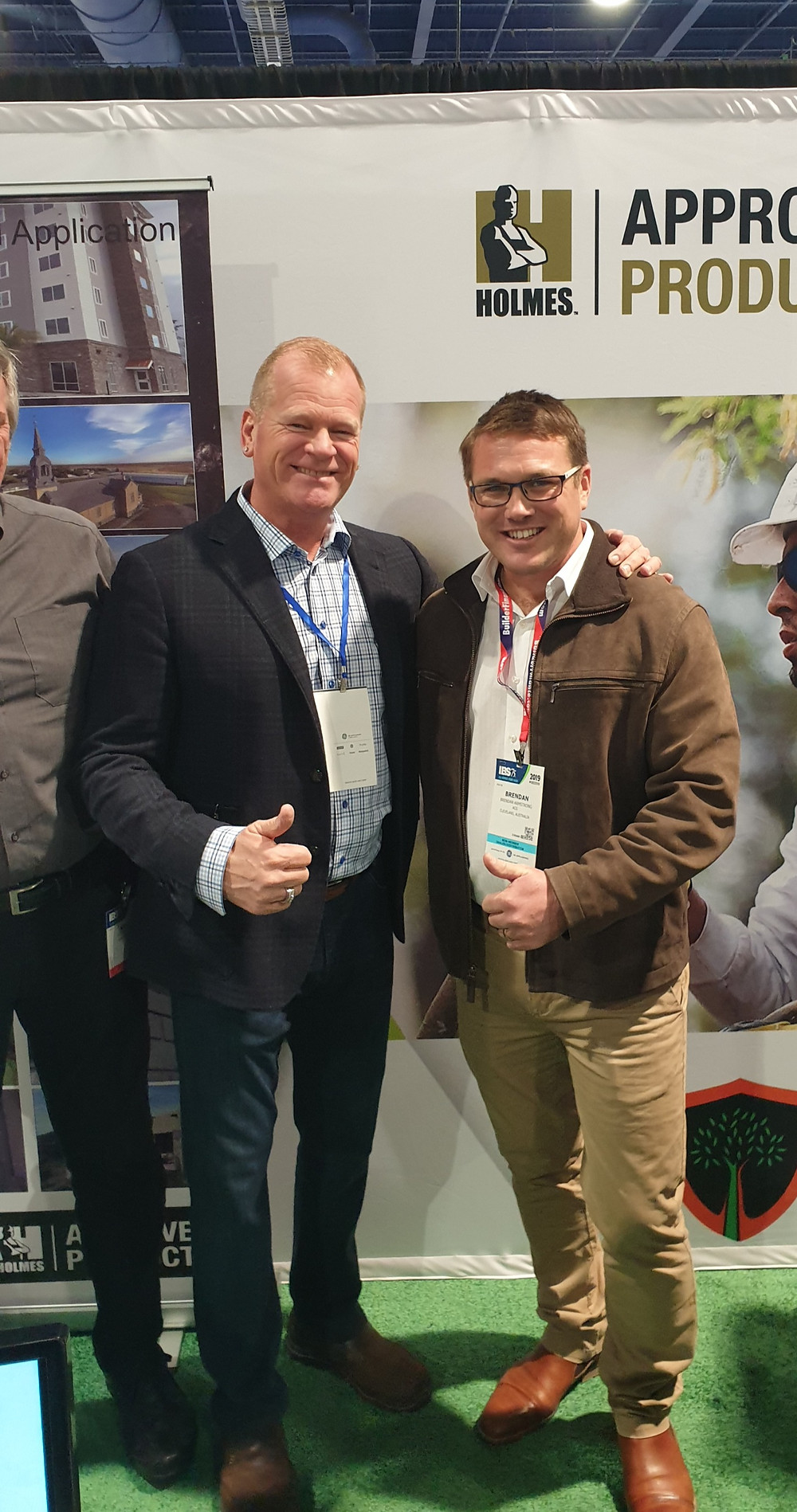 Mike Holmes & Brendan Armstrong discuss Spray Cork