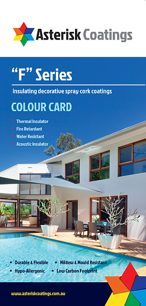 Asterisk Coatings Colour Card (130mm x 2